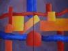 laramas 2018 Lyon n'existe pas dyptique acrylique sur toile 80x60cm