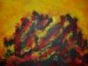 LARAMAS  sans titre acrylique sur toile 49x70 cm, 2014