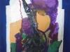Caludine, 2015 Le narguilé 60 x 40 Acrylique