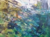 Caludine, sans titre 46 x 55 cm acrylique sur toile