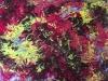 Eloha le chakra du coeur 50 x 70 cm acrylique sur toile 2017