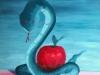 Liou Péché de gourmandise 50 x 61 cm acrylique sur toile 2017
