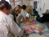 Artuelistes à l'atelier de BENA