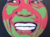27 le bonheur, portrait pop art acrylique   jagab