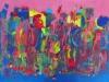 MCF A VOTRE BON GRE 70 x 50 cm acrylique sur toile