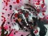MNO, Sans titre, 2015, acrylique sur chassi, 60 x 60 cm