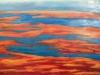 Marais salans 81x 54 cm acrylique sur toile 2017 philiberte