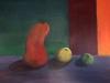 Nature morte 45x60 cm acrylique sur toile 2017 philiberte