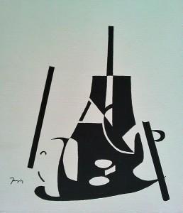 jean-Claude Jacquemin dit JCe    acrylique sur toile, 48 x 36 cm