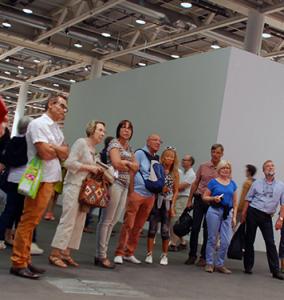 les artuélistes à Basel foire d'art contemporain 2014