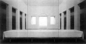 n Willikens acrylique sur toile 300x200cmchaque panneau 1976/1979  Musée allemand de l'architecture TDR Francfort sur Main