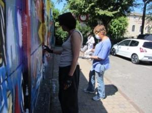 atelier de Bena, street Art