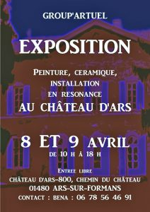 exposition 2017 group artuelau chateau d ars