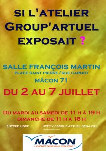 affiche expo group artuel 2019