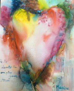 nouns pour toi Emilie aquarelle sur papier 80 x 100 cm