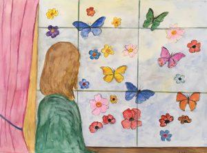 betty confinement 57 x 42 cm figuratif sur papier