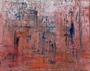 jagab errance 50 x 61 cm acrylique