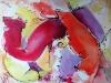 alaforet-ballon-rouge-80-x-65-cm-technique-mixte-2014