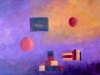 laramas serie symboles de l'enfance sans titre 55 x 46 cm acrylique