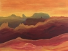 mho 2019 les montagnes du tigre 60 x 50 cm acrylique